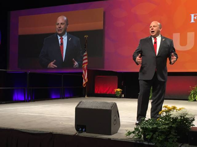 'We can't be patriots if we're going broke,' says AFBF president