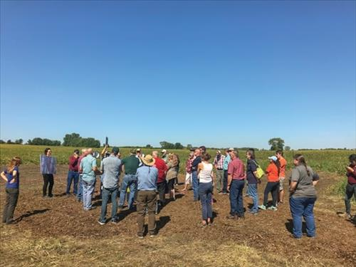 Demonstration site, conservation option: Kane County bioreactor aids more than water