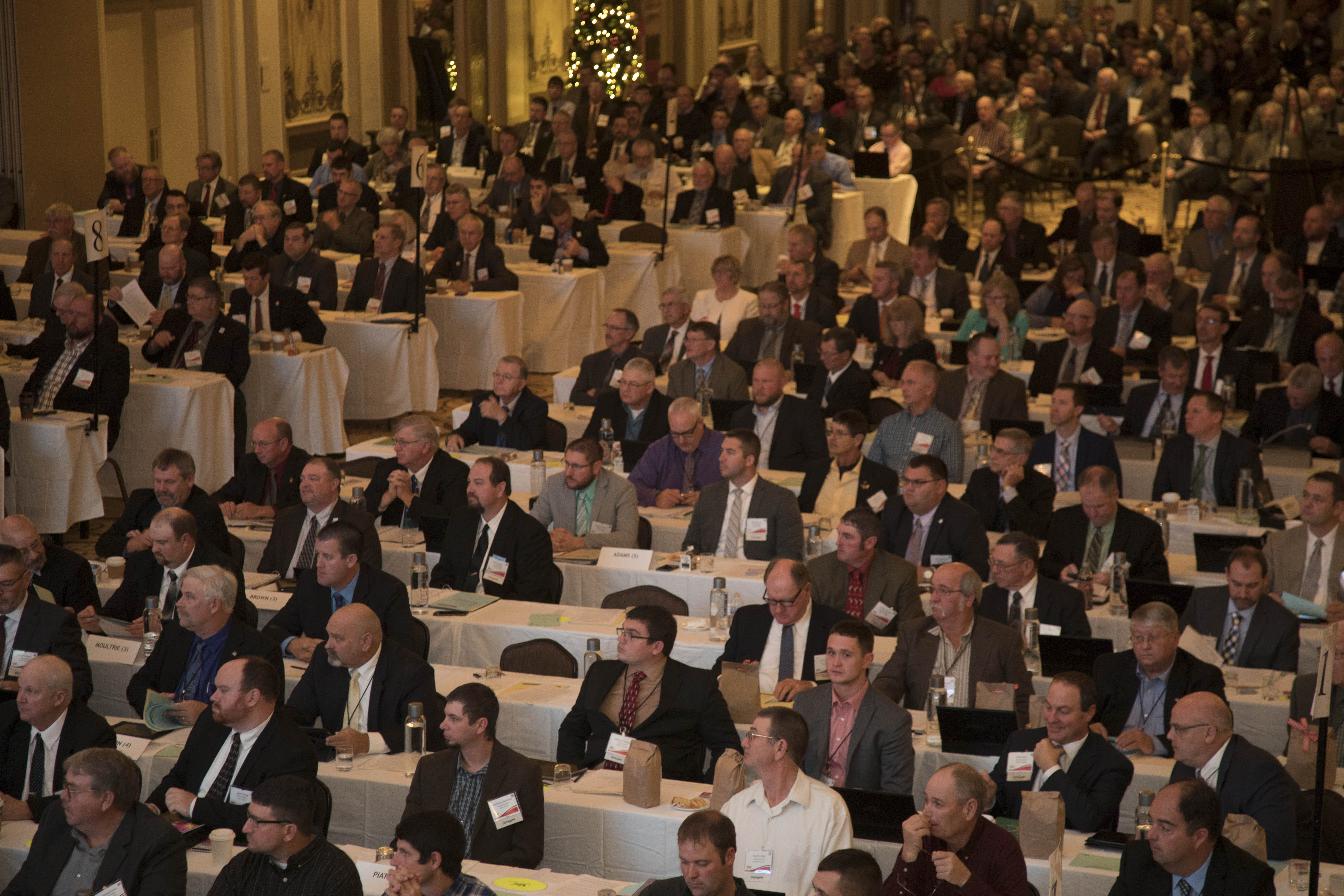 IFB members set policy at annual meeting