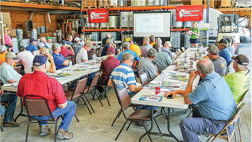 Cover crops, manure focus of field day