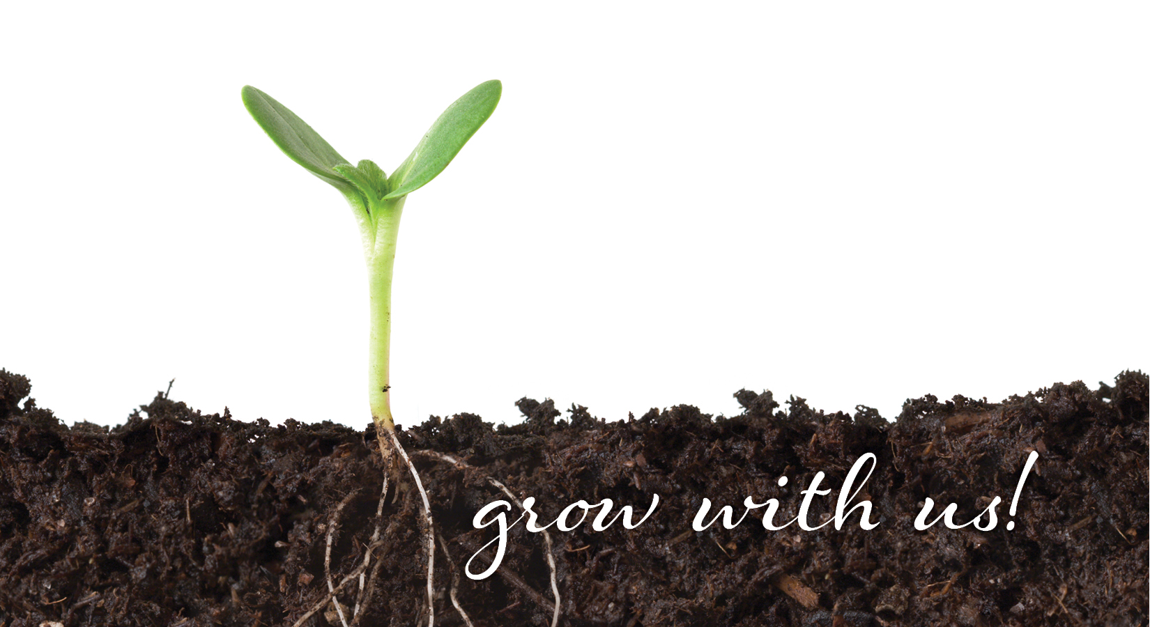 Grow with us!