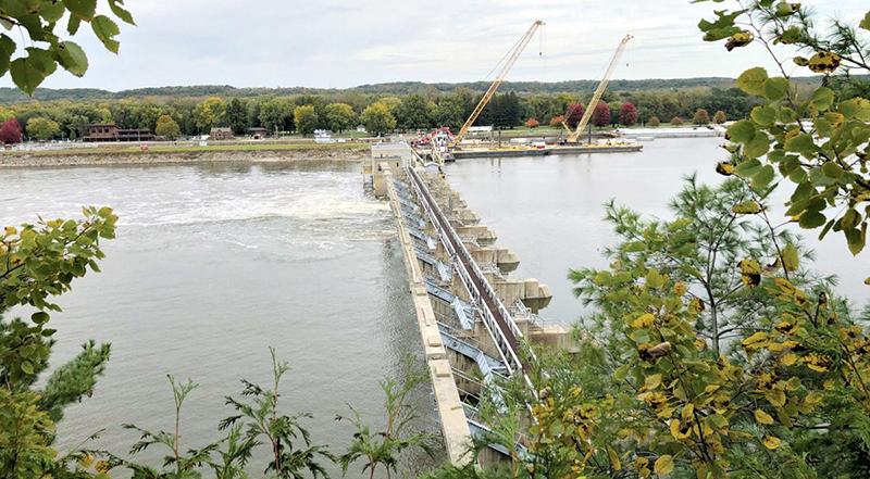 IFB's update on lock and dam work